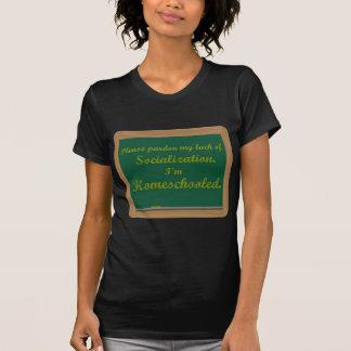 Ich bin homeschooled. T-Shirt