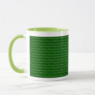 Ich bin ich bin irisch glücklich tasse