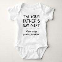 1 Vatertag Des Babys Geschenke Zazzlede