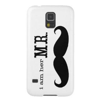 Ich bin ihr Herr Mustache Grooms Gifts Samsung S5 Hüllen
