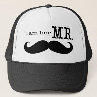 Ich bin ihr Herr Mustache Grooms Gifts Truckerkappe