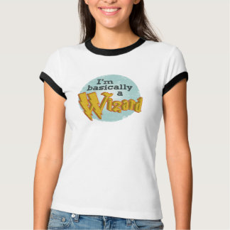 Ich bin im Allgemeinen ein Zauberer T-Shirt