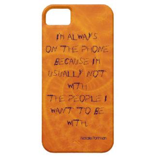 Ich bin immer auf dem Telefon iPhone 5 Fall Etui Fürs iPhone 5