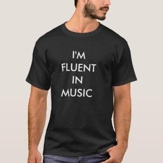 Ich bin IN DER MUSIK - T - Shirt FLIESSEND