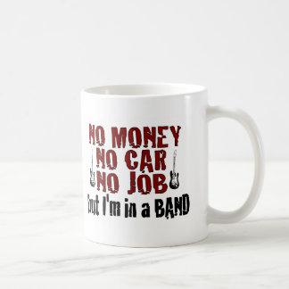 Ich bin in einem Band Kaffee Tassen