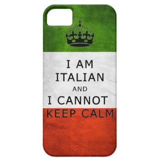 ich bin italienisch und ich kann ruhigen iPhone 5 etui