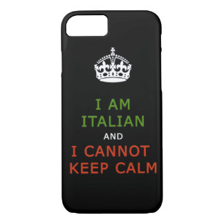 ich bin italienisch und ich kann ruhigen iPhone 8/7 hülle