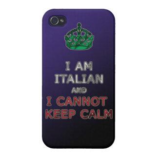 ich bin italienisch und ich kann ruhiges lustiges  hülle fürs iPhone 4