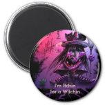 Ich bin Itchin für ein Witchin Magnets