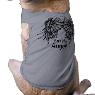 Ich bin kein Engel! Winged HundeT - Shirt Hund T-shirt