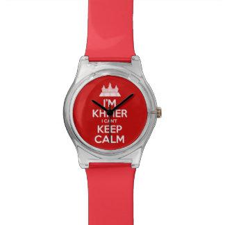 Ich bin Khmer, den ich Ruhe nicht behalten kann Uhr