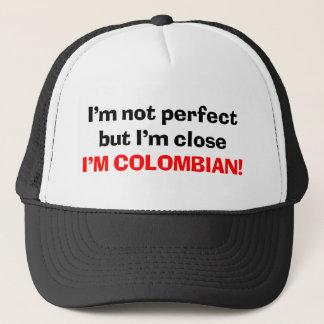 Ich bin KOLUMBIANISCH Truckerkappe