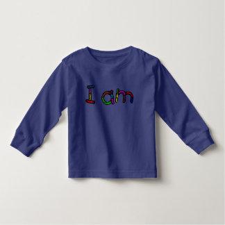 Ich bin langes Hülsenkleinkindt-stück Kleinkind T-shirt