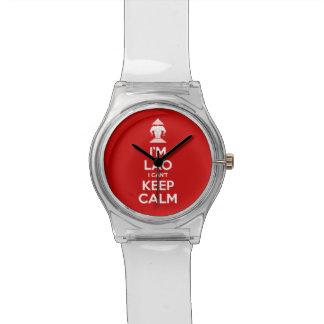 Ich bin Lao, den ich Ruhe nicht behalten kann Armbanduhr