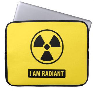 Ich bin leuchtend laptopschutzhülle