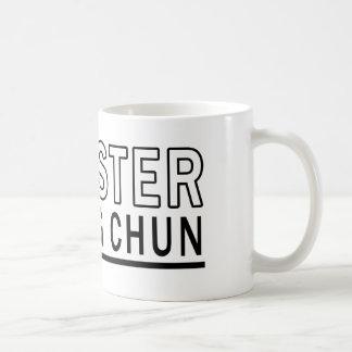 Ich bin Meister des Flügels Chun Kaffeetasse