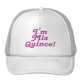 Ich bin Mis-Quitte Rosa Netzkappe