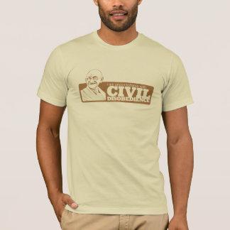 Ich bin mit der zivilen Missachtung unbequem T-Shirt