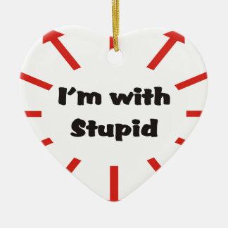 Ich bin mit dummem keramik ornament
