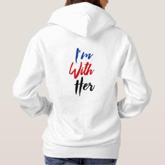 Ich bin mit ihr hoodie