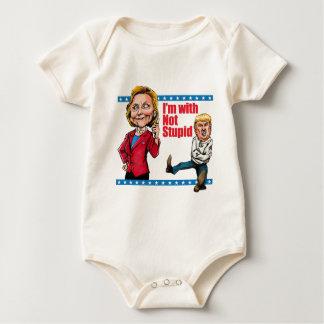 Ich bin mit nicht dummem baby strampler
