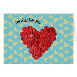 Ich bin nähe in Sie die Karte des Valentinsgrußes