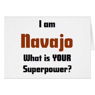 ich bin Navajo Karte