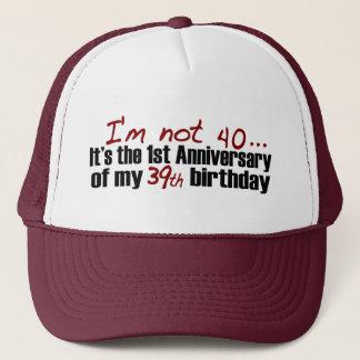 Ich bin nicht 40 truckerkappe