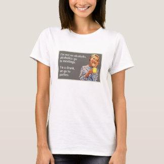 ich bin nicht alkoholische Alkoholiker gehe zu den T-Shirt