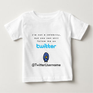 Ich bin nicht ein Berühmten… Follow-me auf Twitter Shirt