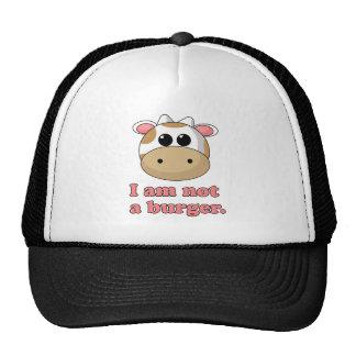 Ich bin nicht ein Burger Baseball Caps