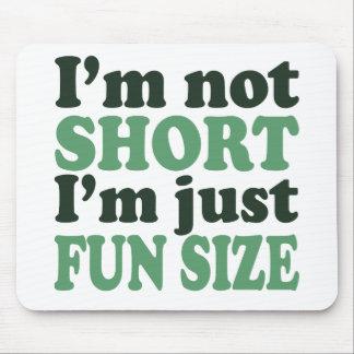 Ich bin nicht - gerade Spaß Size~ kurz Mousepad