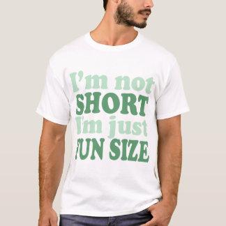 Ich bin nicht - gerade Spaß Size~ kurz T-Shirt