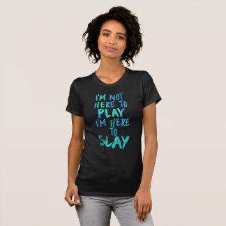 Ich bin nicht hier zu spielen, ich bin hier, Shirt