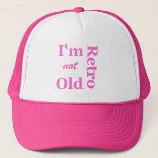 Ich bin nicht ich bin Retro Fernlastfahrer-Kappe Truckerkappe