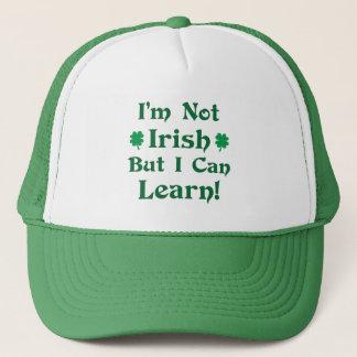 Ich bin nicht irisch, aber ich kann lernen truckerkappe