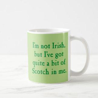 Ich bin nicht irisches - lustiges schottischer tasse
