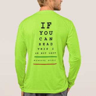 Ich bin nicht letztes Augen-Diagramm - LS T-Shirt