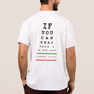 Ich bin nicht letztes Augen-Diagramm - verfechten T-Shirt