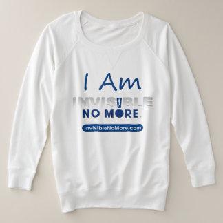 Ich bin nicht mehr - weiches Sweatshirt unsichtbar