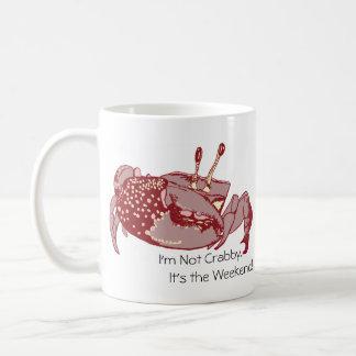 Ich bin nicht mürrisch.  Es ist die Kaffeetasse