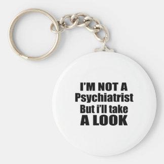 Ich bin nicht Psychiater, aber ich nehme einen Schlüsselanhänger