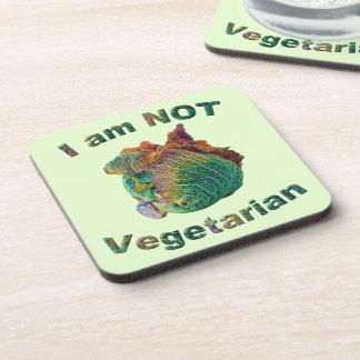 Ich bin nicht vegetarisch untersetzer