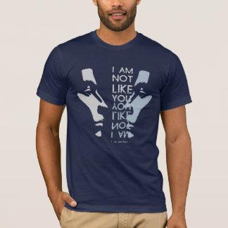 Ich bin nicht wie Sie, ich bin perfekt T-Shirt