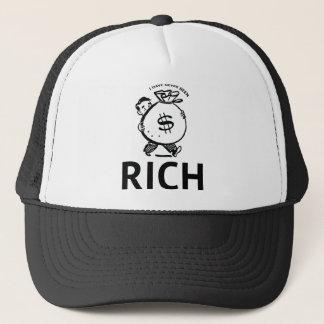Ich bin nie reich gewesen truckerkappe