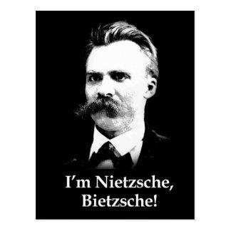 Ich bin Nietzsche, Bietzsche! Postkarte