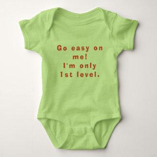 Ich bin nur erstes Niveau Baby Strampler