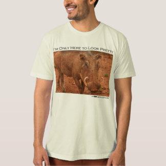 Ich bin nur hier, hübsch zu schauen - warthog tshirts