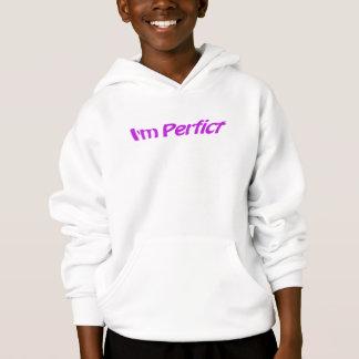 Ich bin perfekt hoodie