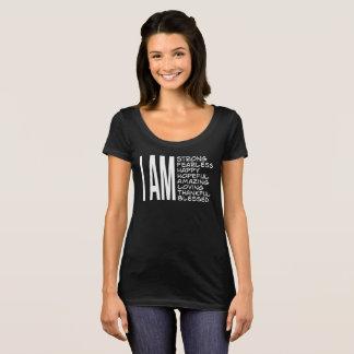 ICH BIN positive Mitteilungs-gute Schwingungen T-Shirt